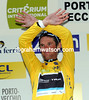 Yes, really! Frank Schleck is also the race-leader of the Criterium - and the overall G.C could well be over already..!