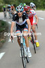 Frank Schleck responds with a calm attack that takes Rein Taamarae away with him...