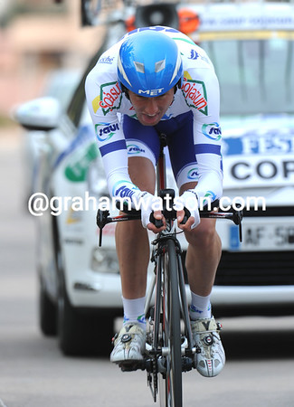 Jerome Coppel took 6th place at 16-seconds...