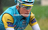 Rain or shine, Alexande Vinokourov is a hard man, and an even harder man to beat as race-leader...