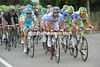Liquigas, FDG, Astana and Movistar are about to seal McCartney's fate...