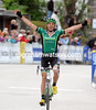 Christophe Kern wins stage five after catching and dropping Zaugg and the other hopefuls...