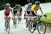 Wiggins imposes himself on men like Gesink, Van Den Broucke, Kern and Evans - and shows them he can climb too..!