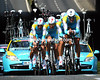 Team Astana took 17th place at 50-seconds...