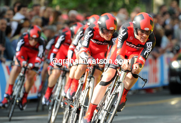 BMC looked sharp, but ended in 13th place, 41-seconds down...