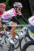 Alberto Contador looks pretty happy with his Giro experience, to date...