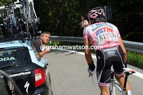 Is Alberto Contadopr asking for an ice-cream, or is it something more serious..?