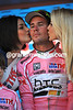 Mark Cavendish is in the Maglia Rosa, but disappointed not to win the stage today...