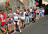 """You're still with us"", say a group of tifosi carrying Weylandt's No.108 race-number..."