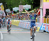Francisco Ventoso wins stage six into Fiuggi ahead of Petacchi and Ferrari - Weening stays as race-leader...