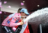 "Alberto Contador is all set for tomorrow's final mountain stage of this Giro - and he's 5' 18"" ahead of Scarponi, 5' 52"" ahead of Nibali..."