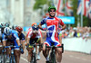 Job done - Mark Cavendish wins the Olympic test event, twelve months before the real thing and, maybe, real Gold...