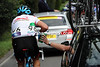 Jeremy Hunt is getting his water bottles of Team Sky - but he's racing today for England..!