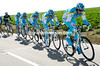 Astana put in a mighty effort with five-kilometres to go - they trail the escape by about 20-seconds...