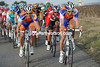 Rabobank and Radio Shack join the chase - yes, the peloton is getting desperate..!