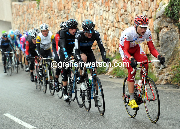 Rein Taaramae leads the chase to protect his 4th place overall...