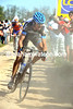 Johan Van Summeren makes his move on the Carrefour de L'Arbre, but he can hardly be seen in the clouds of dust..!
