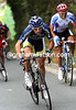 Marco Marcarto attacks on the third climb from home...