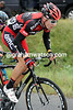 Taylor Phinney chases Gilbert, despite the fact they're riding for the same team in 2012..!