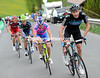 Chris Froome makes a big effort for Team Sky, but it's too little, too late...