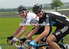 Smile please - Christopher Froome and Geraint Thomas have few worries as well...