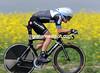 Lean machine - David Zabriskie won the TT at a little over 43-kilometres-per-hour..