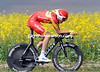 """Spanish champions, Luis Leon Sanchez, looks good - but he was back in 32nd place, 1' 26"""" down..."""