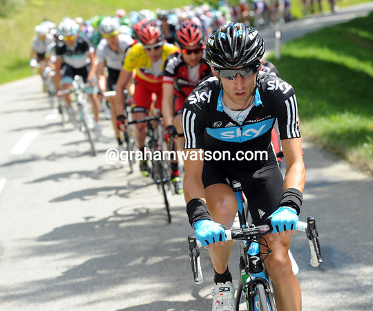 Morris Possoni chases this one for Team Sky - the plot thickens...!
