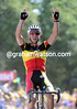 Philippe Gilbert fulfills a promise made by winning stage one of the 2011 Tour de France..!