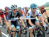 Schleck and Vande Velde dicuss the crash, other crashes - and how to get on to that podium in Paris...