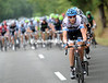 Ryder Hesjedal starts the serious chasing for Team Garmin-Cervelo....
