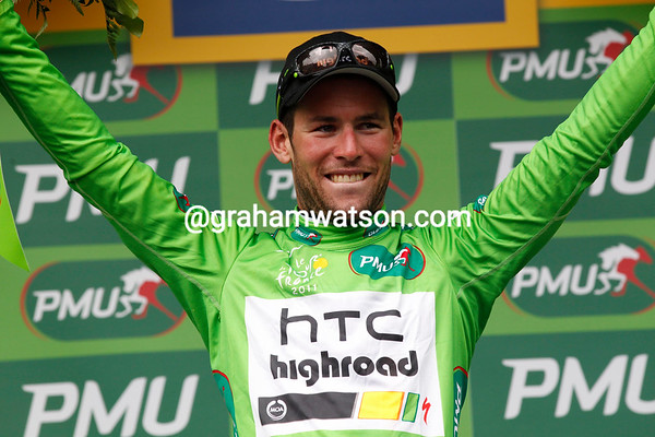 Mark Cavendish is now the Green Jersey points leader - can he pull off a dream and wear it all the way to Paris..?