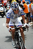 Jeremy Roy has caught Hushovd and heads towards the summit of the Aubisque with a minute in hand on Hushovd and Moncoutie...