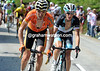 Sanchez makes a move now, taking Schleck with him for a while...