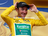 Thomas Voeckler's smile says it all - I'm still here and still in Yellow..!