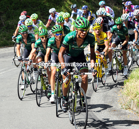 Europcar is hard at work, they face a real challenge near the end of the day...