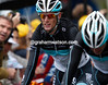 Andy Schleck finishes over one minute down on his overall rivals - his Tour chances are slipping away in the rain...