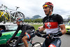 Fabian Cancellara can relax at last, and put on some warmer clothes now the escape has gone...
