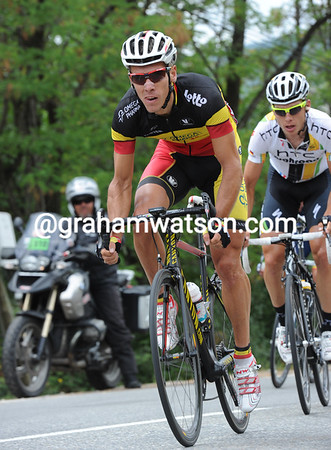 Philippe Gilbert tries an attack with Tony Martin - and that fails too..!