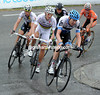 Ryder Hesjedal chases after Ignatiev, he seems to be working for teamate Thor Hushovd...