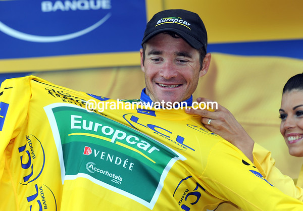 Thomas is still smiling as race-leader of the Tour - but can he survive tomorrow's Alpe d'Huez finish..?