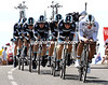 Team Leopard were on a mission with Fabian Cancellara at the head - they took 4th at four seconds, and put Andy Schleck another 24-seconds ahead of Contador on G.C...