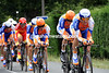 Maarten Tjallingii towed Rabobank into 7th place, 12-seconds off the winning time...