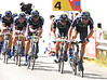 """Team Movistar looked fast but also ragged - they took 19th place, 1' 09"""" down..."""