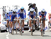 Quick-Step had Sylvain Chavanel helping them to 14th place, 56-seconds down...