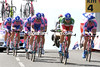 """Italian TT champion Malori helped as much as he could, but Lampre ended in 17th place, 1' 04"""" down..."""