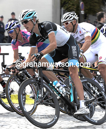 Andy Schleck is not far behind either, perhaps the racing hasn't quite finished yet..?