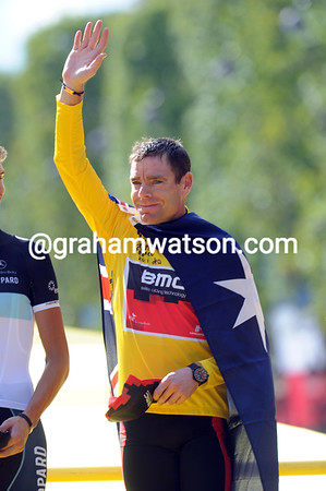 Cadel Evans is the first-ever Australian winner of the Tour de France..!