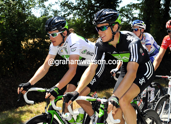 Ben Swift and Geraint Thomas seem to be plannig their own sprint campaign...