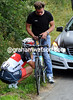 Fabian Cancellara is nervous too - but he believes in a more do-it-yourself approach...